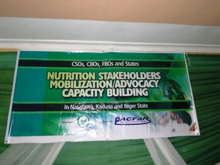 Policy Dialogue on Mobilizing CSOs to Scale Up Nutrition in Nigeria