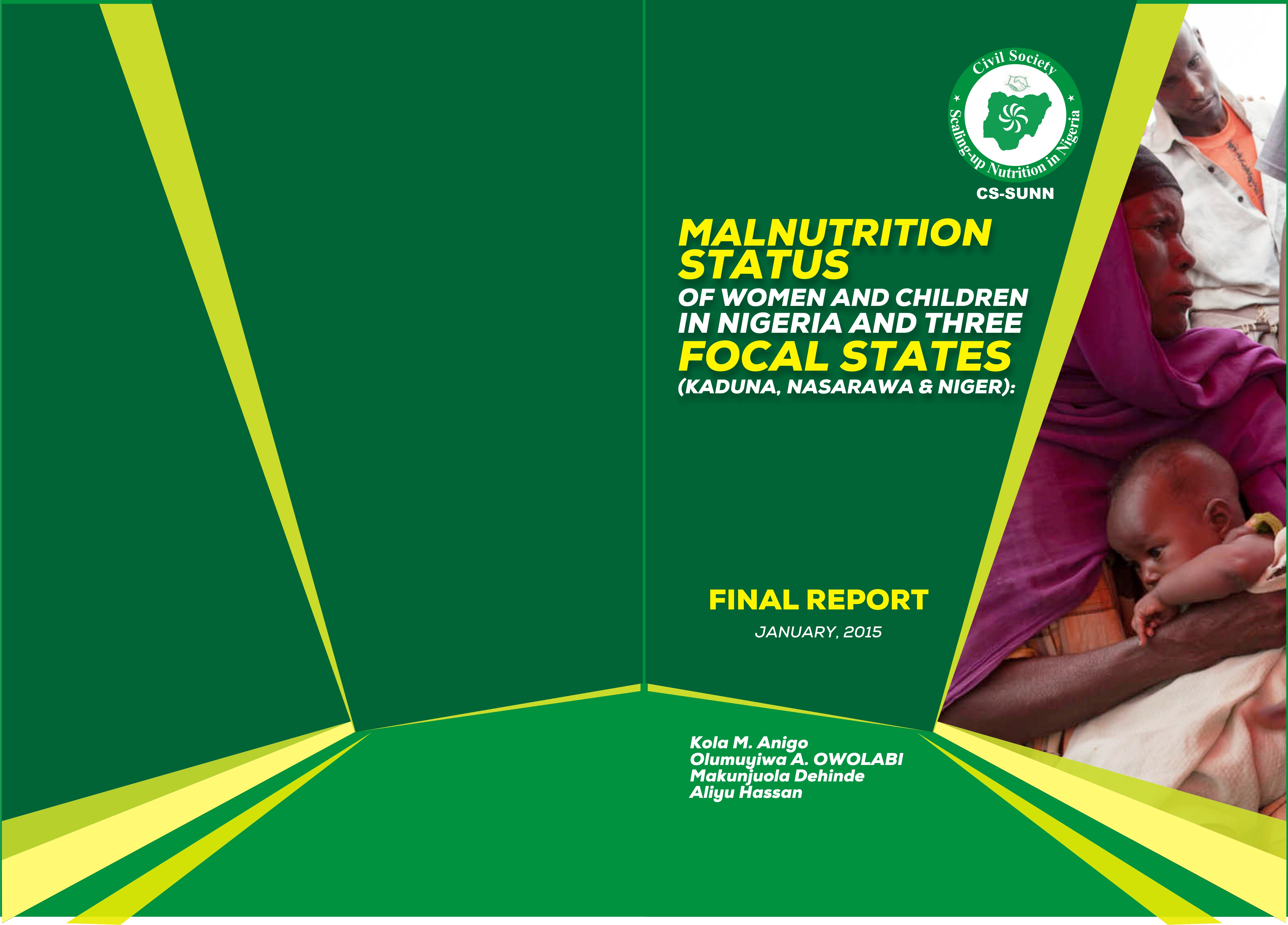 Dissemination Meeting: Study on the status of malnutrition at the national and in Kaduna, Nasarawa and Niger states