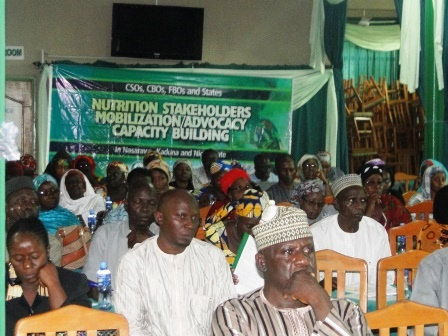 Sensitization and Mobilization of CSOs, CBOs, FBOs and key nutrition stakeholders………NSPAN