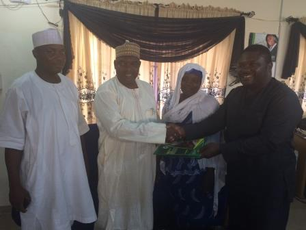Courtesy visit to the Permanent secretary Nasarawa state ministry of Finance and Economic Development Ministry