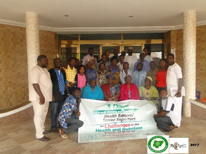 CS-SUNN HOLDS A 3- DAY CAPACITY BUILDING WORKSHOP AND FIELD VISITS WITH EDITORS AND SENIOR REPORTERS ON CHALLENGES OF HEALTH AND NUTRITION IN NIGERIA TO PROMOTE EFFECTIVE REPORTAGE IN KADUNA