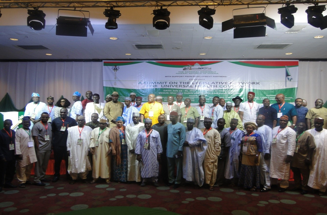 CS-SUNN PARTICAPTES AT THE 2017 NATIONAL HEALTH DIALOGUE SPEAKS ON BEST PRACTICES IN NGO ADVOCACY