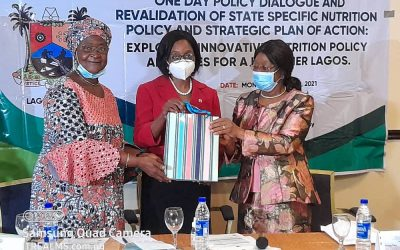 WIFE OF LAGOS STATE GOVERNOR COMMENDS CS-SUNN; CALLS FOR APPROVAL OF LAGOS STATE MULTISECTORAL PLAN OF ACTION FOR NUTRITION