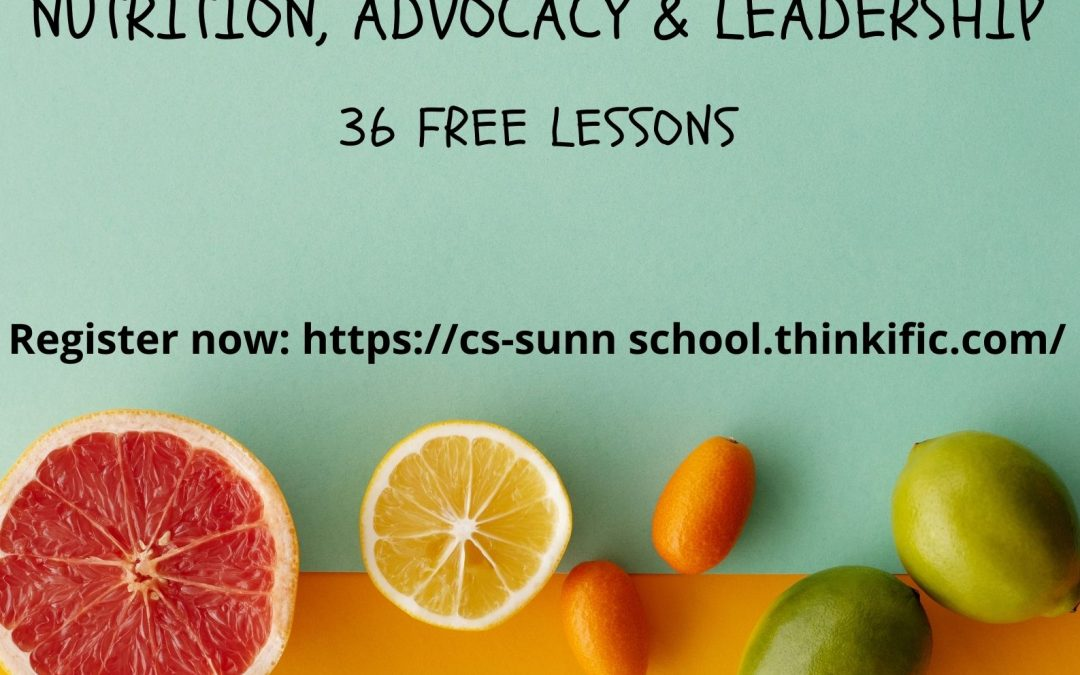 """CS-SUNN LAUNCHES ONLINE SCHOOL; SUN COORDINATOR DESCRIBES SCHOOL AS """"BEST POSSIBLE NUTRITION IMPACT IN NUTRITION ACTION YEAR""""."""
