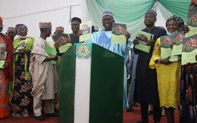 NIGER STATE GOVERNMENT JOINS OTHER STATES; LAUNCH STATE'S MULTISECTORAL PLAN OF ACTION FOR FOOD AND NUTRITION